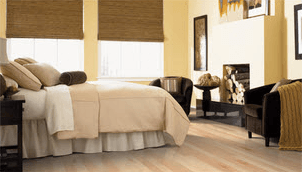 Bedroom laminate flooring | Raby Home Solutions