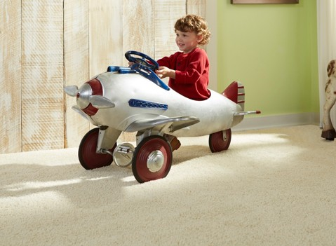 Stainmaster kid car on carpet | Raby Home Solutions