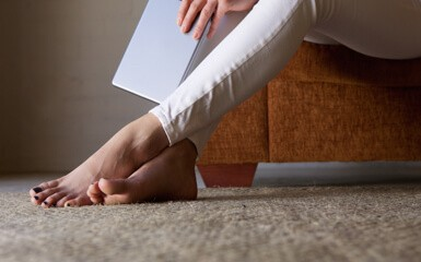 Feet on Carpet   Raby Home Solutions