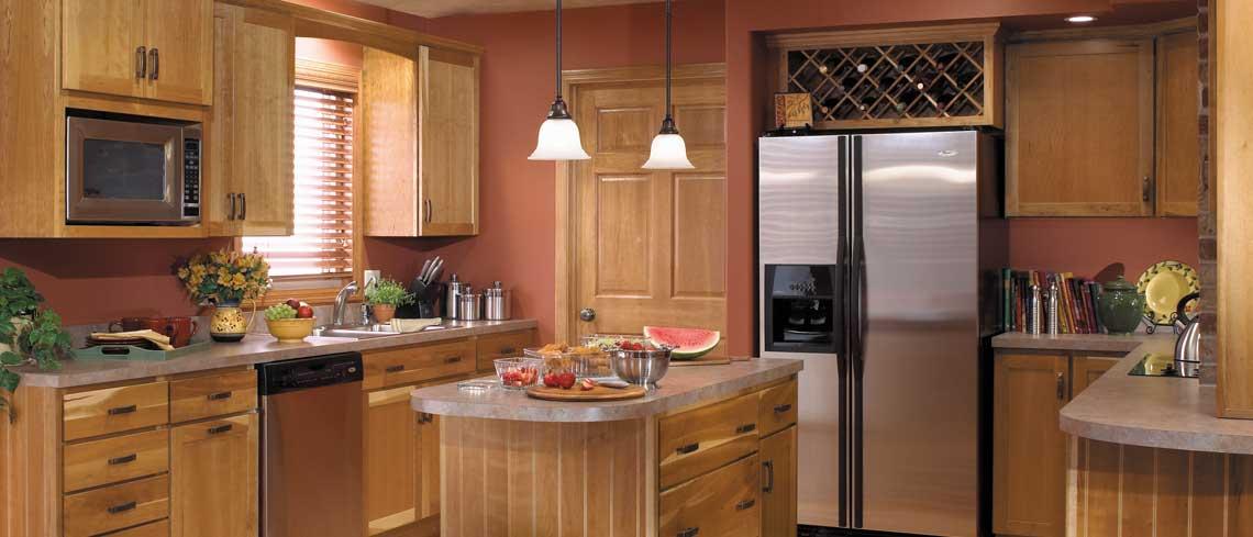 Bridgeport door style in Cherry | Raby Home Solutions