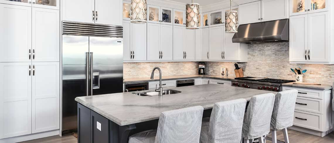 white maple kitchen cabinets | Raby Home Solutions