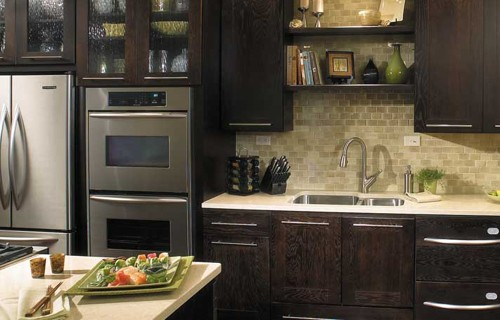 black-kitchen-cabinets | Raby Home Solutions
