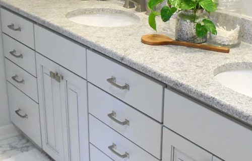 white-bathroom-cabinets | Raby Home Solutions